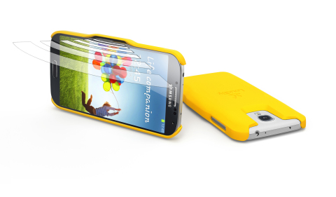 LoudBy S4 yellow (Photo: Business Wire)