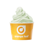 Orange Leaf Introduces New and Improved Pistachio Flavor Frozen Yogurt (Photo: Business Wire)
