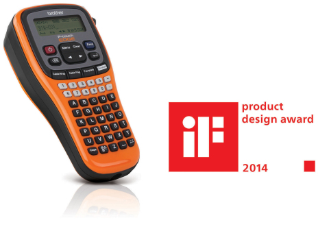 iF Award 2014 Winning Product The Brother PT-E100 industrial labeling tool (Photo: Business Wire)