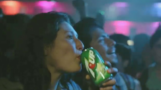 """7UP® announces it's amping up electronic dance music in a big way; unveils #7x7UP and """"Light it UP"""" creative with Tiësto, featuring track with Icona Pop"""
