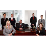 Raymond James Global Wealth Solutions Group, Beverly Hills Team From left: Lisa Detanna, Tim Kang, Erik Willanger, Chris Horner, Wesley Scott, Brian Kim and Courtney Kershaw (Photo: Business Wire)