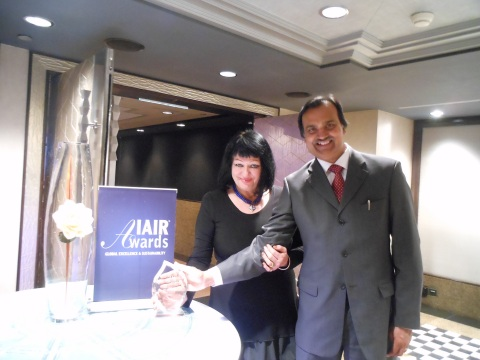 Peta-Ann Jain & Manoj Jain (Photo: Business Wire)