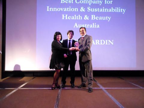 Peta-Ann Jain, Guido Giommi and Manoj Jain (Photo: Business Wire)