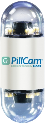PillCam COLON is a non-invasive, recently FDA-cleared device that can be used by doctors to visualize the colon, including identifying the occurrence of polyps, in patients who have had an incomplete colonoscopy that was not due to poor bowel preparation. (Photo: Business Wire)