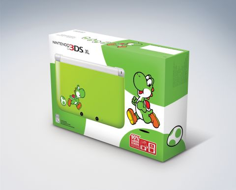 Green Yoshi Nintendo 3DS XL (Photo: Business Wire)