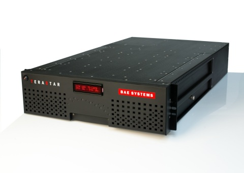 BAE Systems launches TeraStar big data storage solution for commercial customers. (Photo: BAE System ...