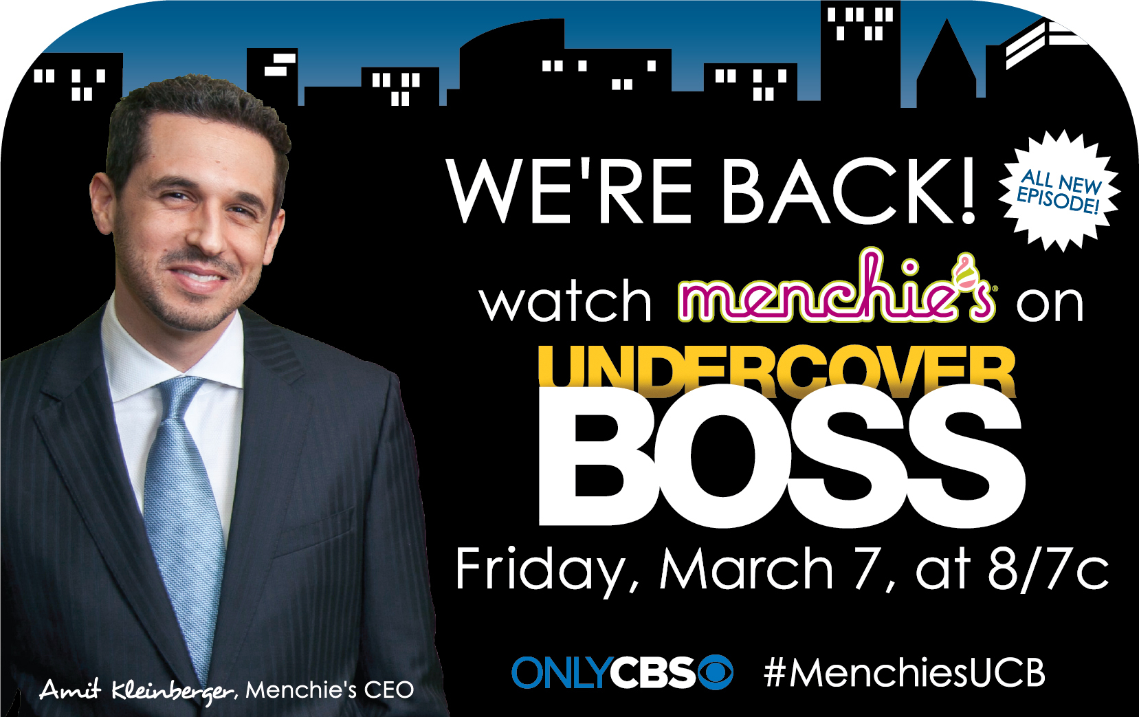 """Menchie's on """"Undercover Boss"""" (Photo: Business Wire)"""