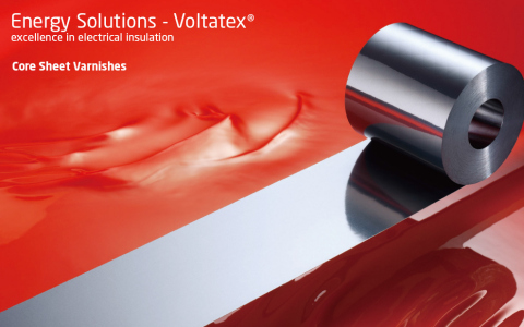 Voltatex Core Sheet Varnishes (Graphic: Business Wire)