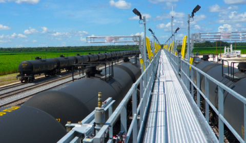 The tests conducted must be able to determine the crude oil's flash point, boiling point, corrosivity to steel and aluminum, presence and content of compounds such as sulfur and hydrogen sulfide, percentage presence of flammable gases, and the vapor pressure at 50 degrees C. (Photo: Business Wire)
