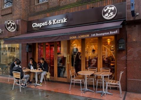 Chapati & Karak photo in London (Photo: Business Wire)