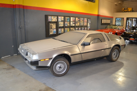 Barn Find - 1981 DeLorean DMC-12 (Photo: Business Wire)