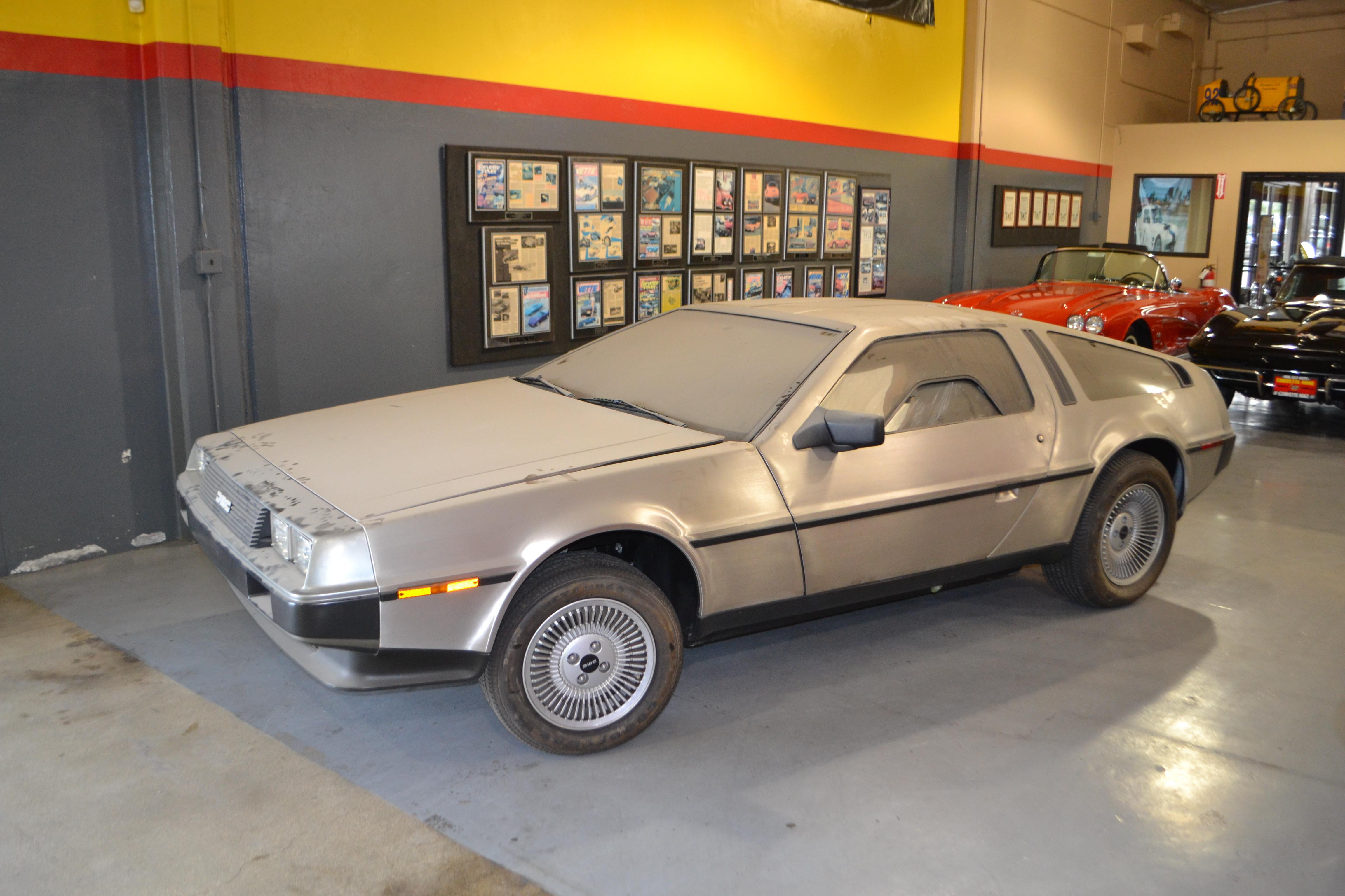 Barn Find - 1981 DeLorean DMC-12 (Photo: Business Wire)