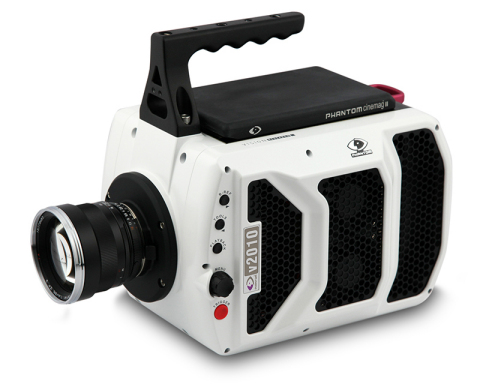 The leader in digital high speed cameras, Vision Research, is now shipping the Phantom v2010 ultra high-speed camera, perfect for academic and scientific research which moves too fast to be seen by the human eye. (Photo: Business Wire)