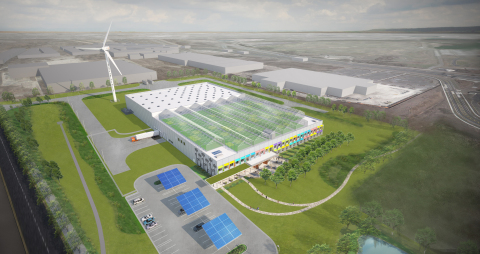 Method is building an advanced facility with the goal of being the world's first and only LEED Platinum certified manufacturing plant in its industry. (Photo: Business Wire)