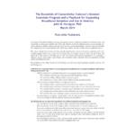 Dr. John B. Horrigan Research Executive Summary