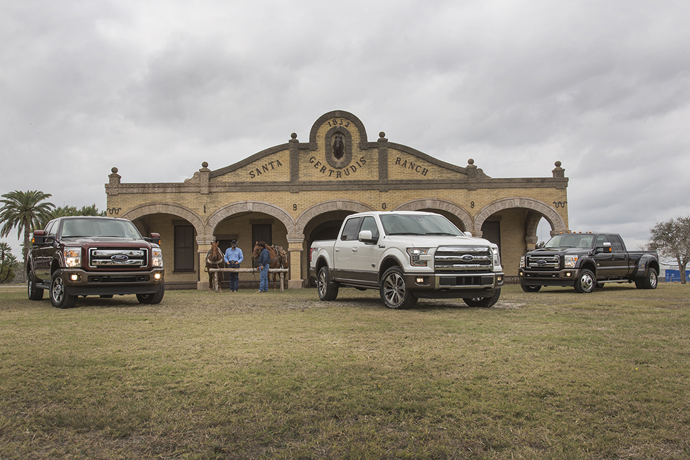 Ford unveils three new King Ranch models launching this year: F-150, F-Series Super Duty and Expedition. (Photo: Business Wire)