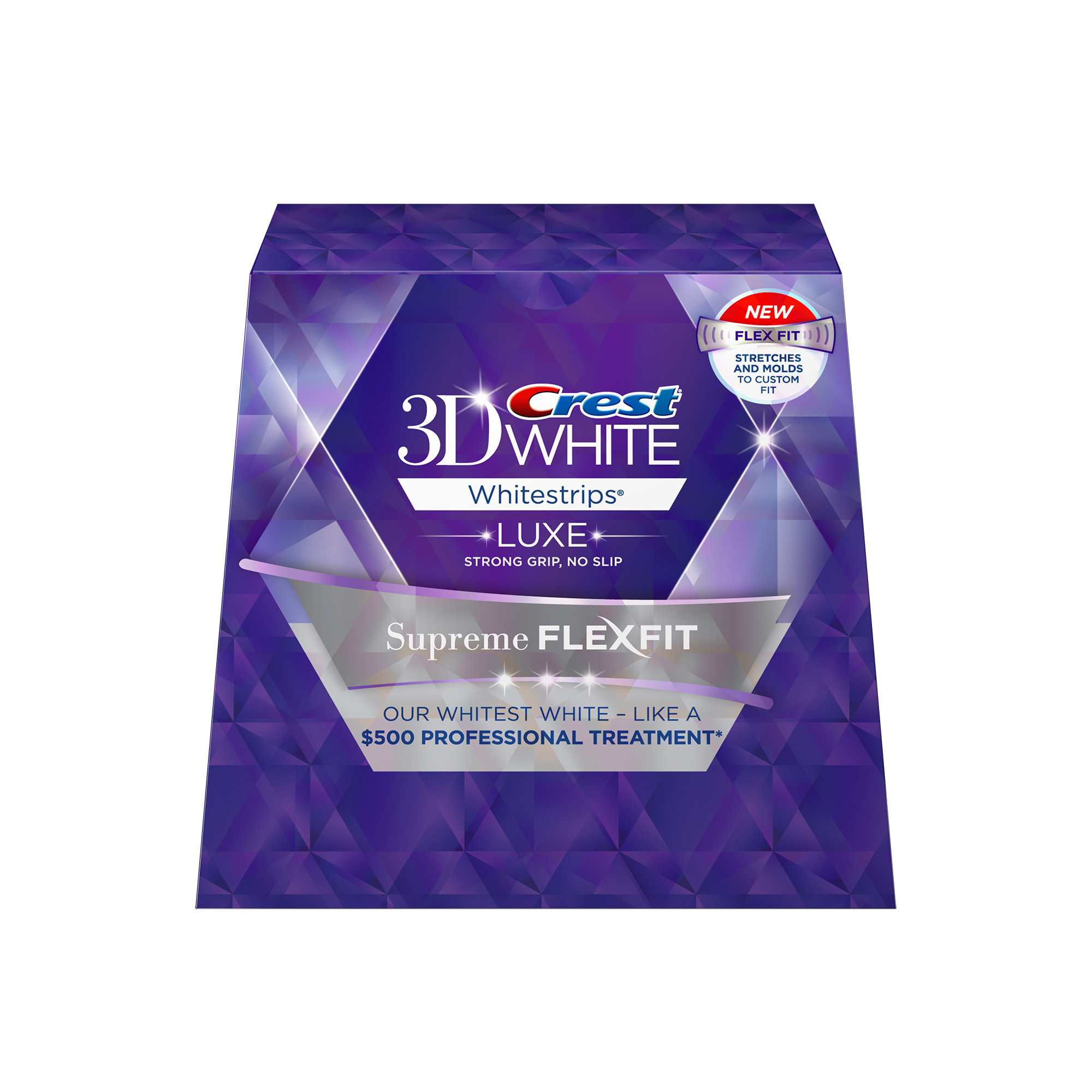 New Crest 3D White® Whitestrips Luxe Supreme FlexFit Provide 30% More Coverage for a Superior Whitening Experience (Photo: Business Wire)