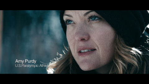 U.S. Paralympic snowboarder Amy Purdy in The Hartford's TV Ad  (Photo: Business Wire)