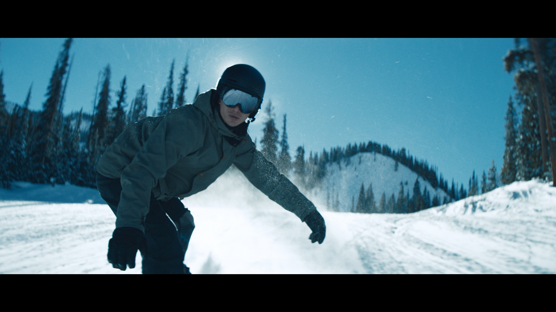U.S. Paralympic snowboarder Evan Strong in The Hartford's TV ad  (Photo: Business Wire)