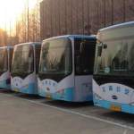 BYD all-electric, zero-emissions bus can travel 24 hours in service before charging during off-peak hours. (Photo: Business Wire)