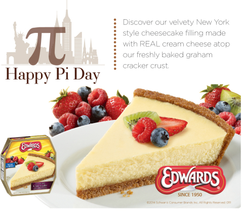 New York Style Cheesecake from Edwards Desserts (Graphic: Business Wire)