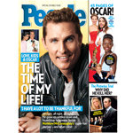 Time Inc.'s 'PEOPLE' Leads in Print & Digital with Outstanding Oscar Performance. PEOPLE's Biggest Oscar Issue in 10 Years Contains More Than 100 Ad Pages; Special Double Issue Hits Newsstands on Friday, March 7. PEOPLE Digital Hits Record-Breaking Oscar Night: Up +50 Percent In Unique Visitors Year-Over-Year (Graphic: Business Wire)