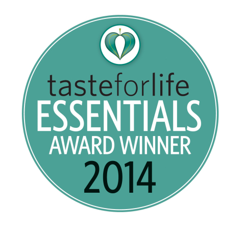 Slice of Life® Sugar Free Multi+ Gummy Vitamin for Adults wins 2014 Taste for Life Essentials Award (Graphic: Business Wire)