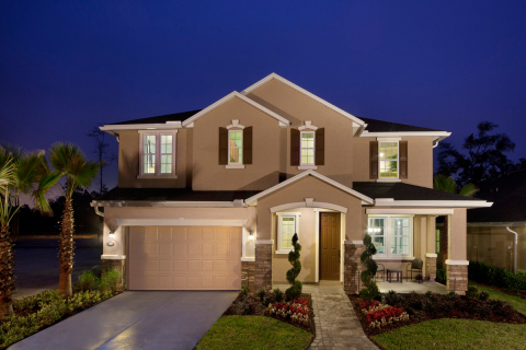 A 3,314 square foot home modeled at KB Home's new Whitmore Oaks community in Jacksonville. (Photo: Business Wire)