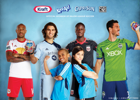Major League Soccer and Kraft Foods Agree To A Multi-Year Partnership Fronted by Capri Sun, Kool-Aid ...