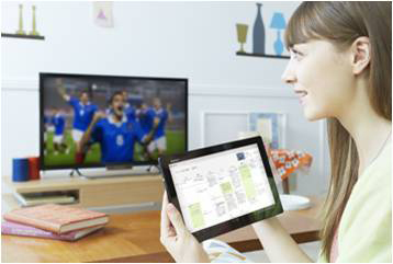 TV Experience is in your hands. (Photo: Business Wire)