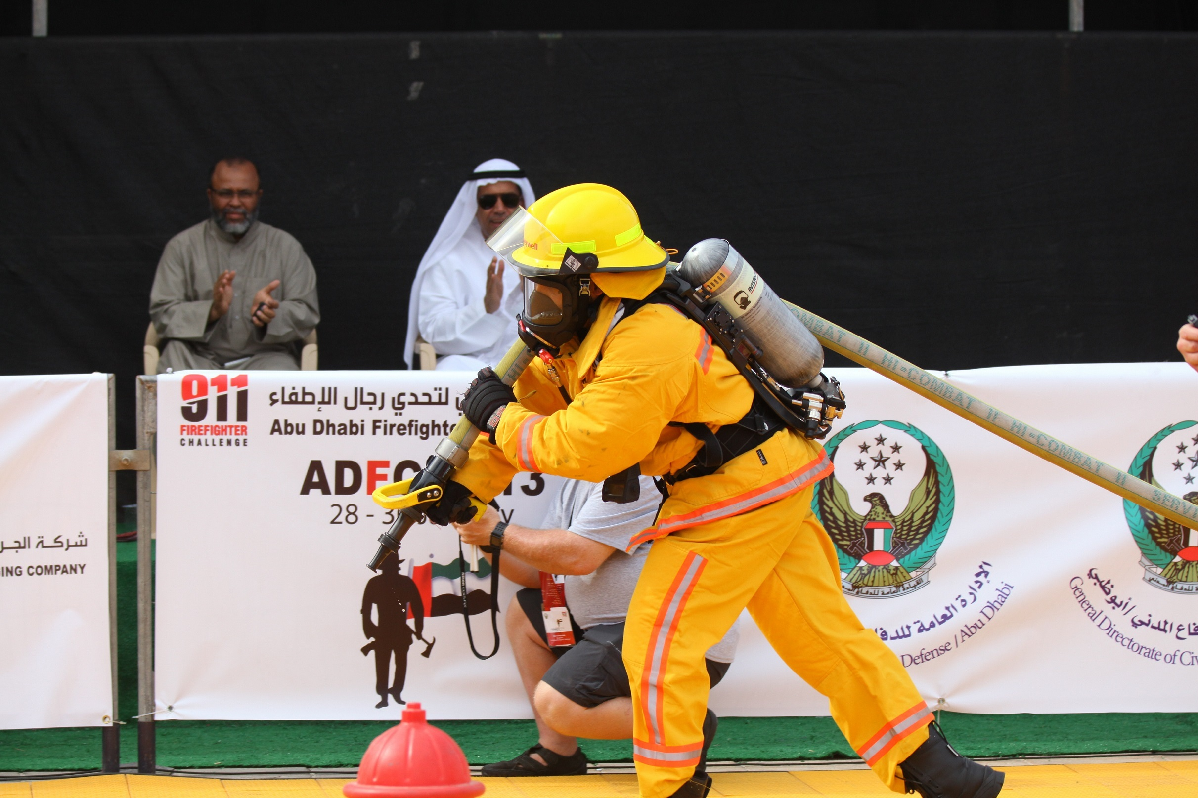 UAE International Fire-fighter Challenge 2014 (Photo: Business Wire)