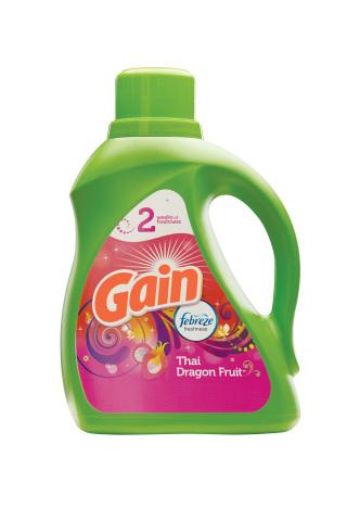 Gain® with Febreze Freshness™ Thai Dragon Fruit™ Liquid Detergent (Photo: Business Wire)