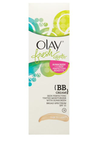 Olay® Fresh Effects {BB Cream!} Skin Perfecting Tinted Moisturizer with Sunscreen Broad Spectrum 15 (Photo: Business Wire)