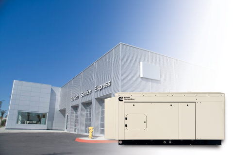 New PowerConnect(TM) generator sets from Cummins Power Generation make backup power easy for residen ...