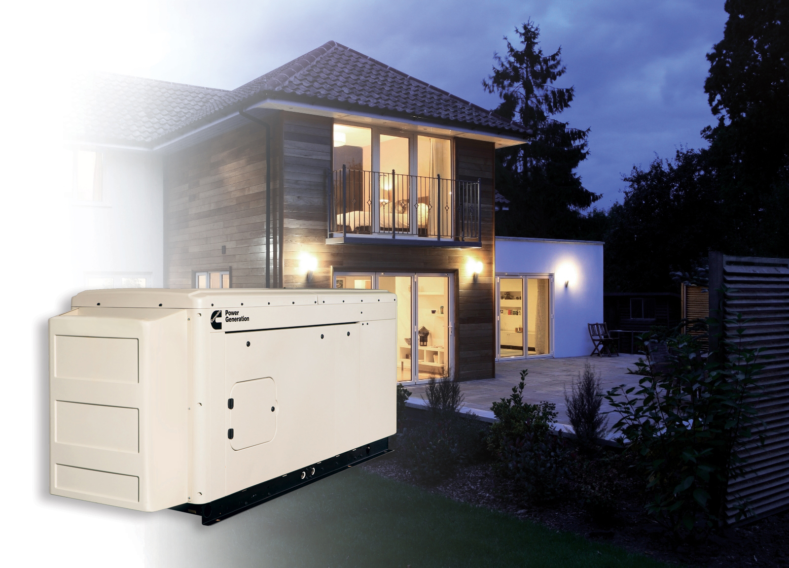 Generator sets from Cummins Power Generation make backup power easy for residential applications. (Photo: Business Wire)