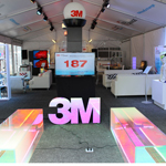The 3M Idea Exchange Lounge at SXSW offers attendees an innovative space to share ideas, network and explore cool 3M technologies. (Photo: 3M)
