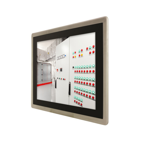 HMI Panel PC Control and Monitoring System, IEC 61850-3 and IEEE-1613 Substation Automation (Photo: ...