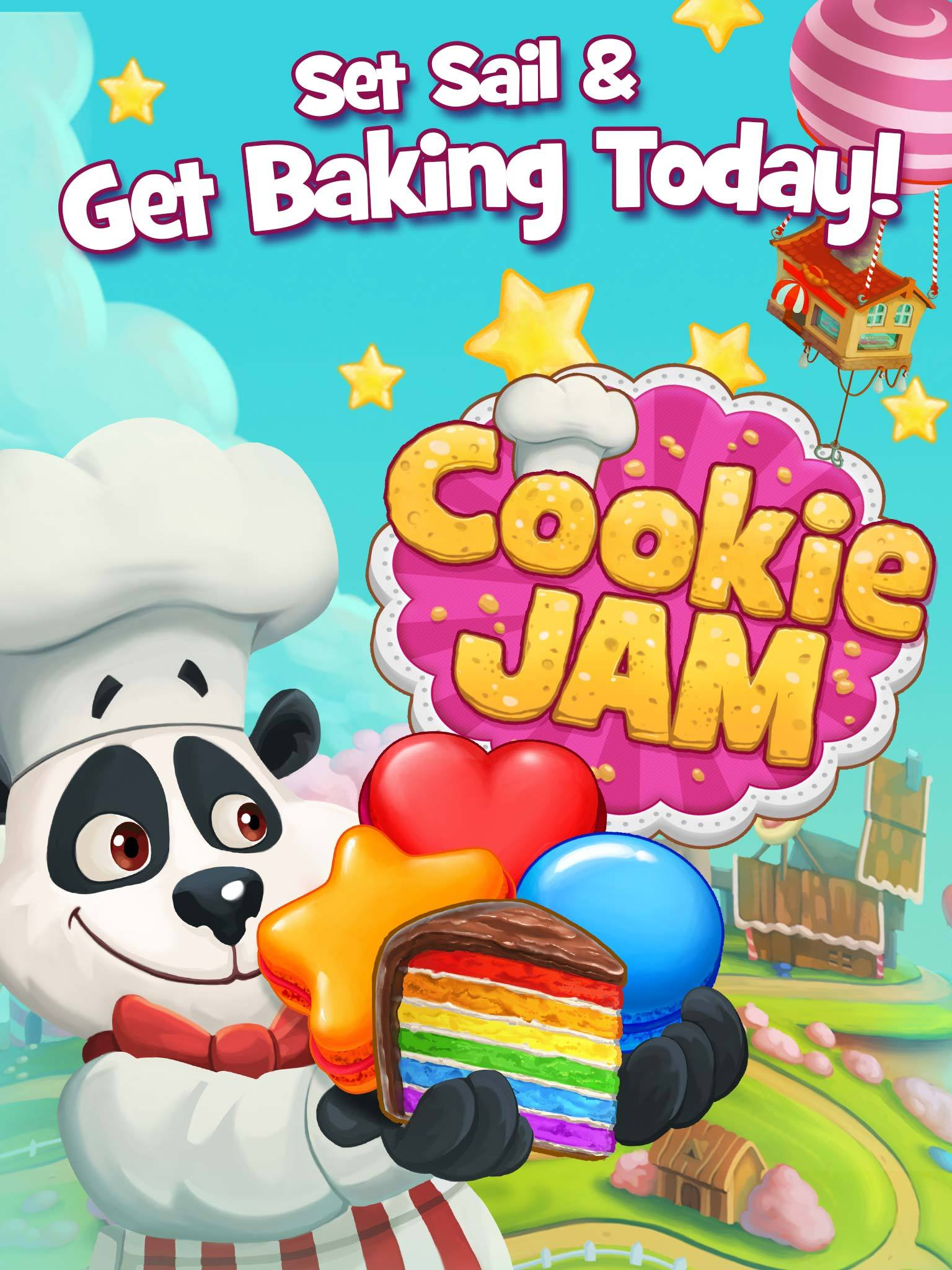 Cookie Jam on iOS (Graphic: Business Wire)