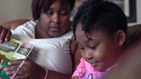 Tiffany Richardson whose story is featured in the documentary found herself in a cycle of debt due to the high fees of alternative financial services.  #Spent (Photo: Business Wire)