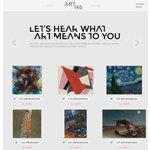 ART140 wants to hear what art means to you. (Photo: Business Wire)