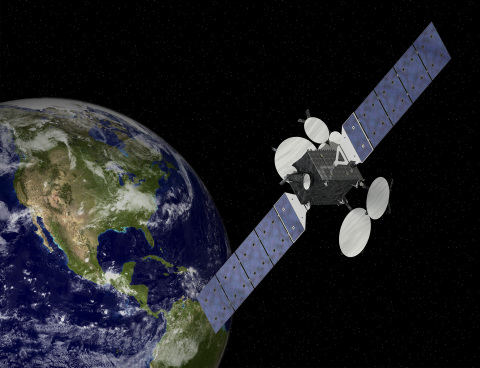 Orbital's medium-class GEOStar-3 commercial communications satellite is ready for production and delivery to customers for missions requiring up to 8 kW of payload power. (Graphic: Business Wire)