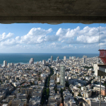 Breathtaking views from Meier on Rothschild (Amit Gosher photographer).