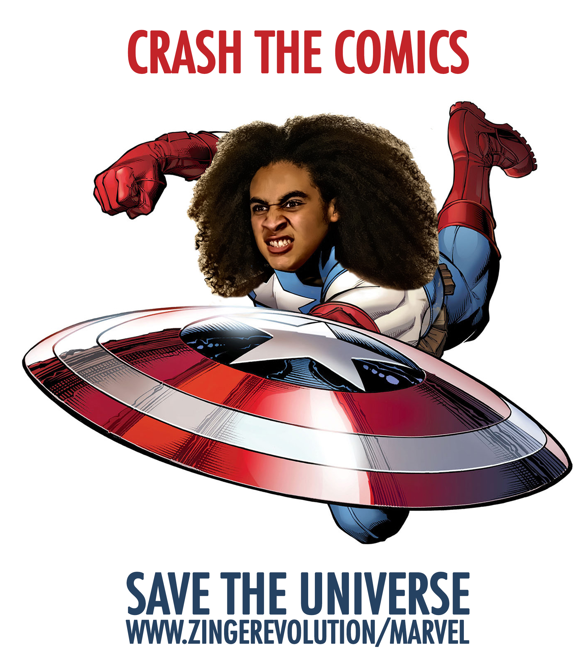 Crash The Comics, Save the Universe with Zing Revolution! (Graphic: Business Wire)