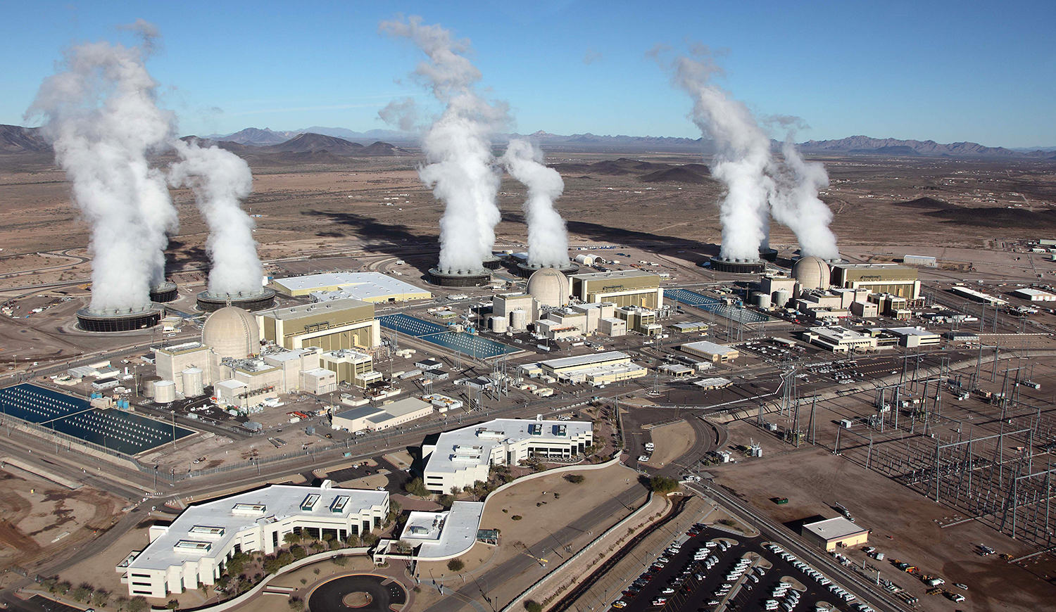 For the 22nd consecutive year, Palo Verde Nuclear Generating Station was the nation's largest power producer, generating 31.4 million megawatt-hours in 2013. With this milestone, Palo Verde remains the only U.S. generating facility to ever produce more than 30 million megawatt-hours in a year - an operational accomplishment the plant has achieved on nine separate occasions. Arizona Public Service Co. is the operator and largest owner of Palo Verde. (Photo: Business Wire)