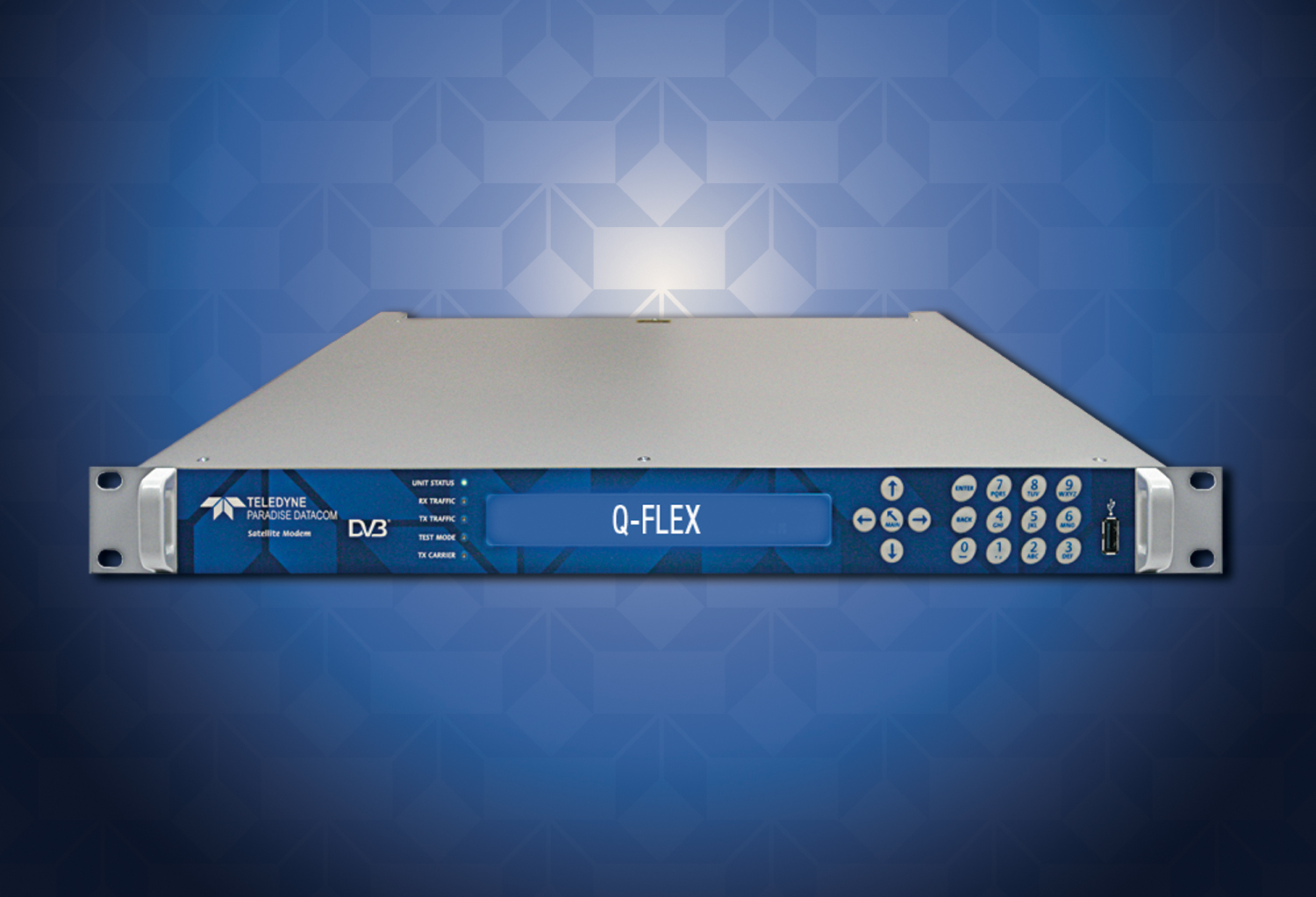 The powerful and efficient Q-Flex modem from Teledyne Paradise Datacom. (Photo: Business Wire)