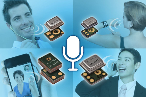 Akustica's new HD voice MEMS microphones deliver superior voice capture in smartphones and wearables ...