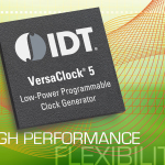 IDT Introduces VersaClock 5(R) with Best-in-class Jitter Performance at 50% Lower Power than Competing Devices (Graphic: Business Wire)