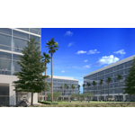 Santa Clara Square: office campus offers high-profile freeway visibility (Photo: Business Wire)