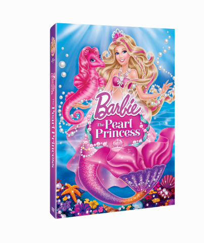 Barbie(TM) is making a splash with her 28th movie, Barbie(TM) The Pearl Princess, now available on B ...