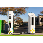 A NRG eVgo Freedom Station consists of a Level 2 charger plus one or more Direct Current fast charging stations where EV drivers can charge their electric vehicles in minutes rather than hours. (Photo: Business Wire)